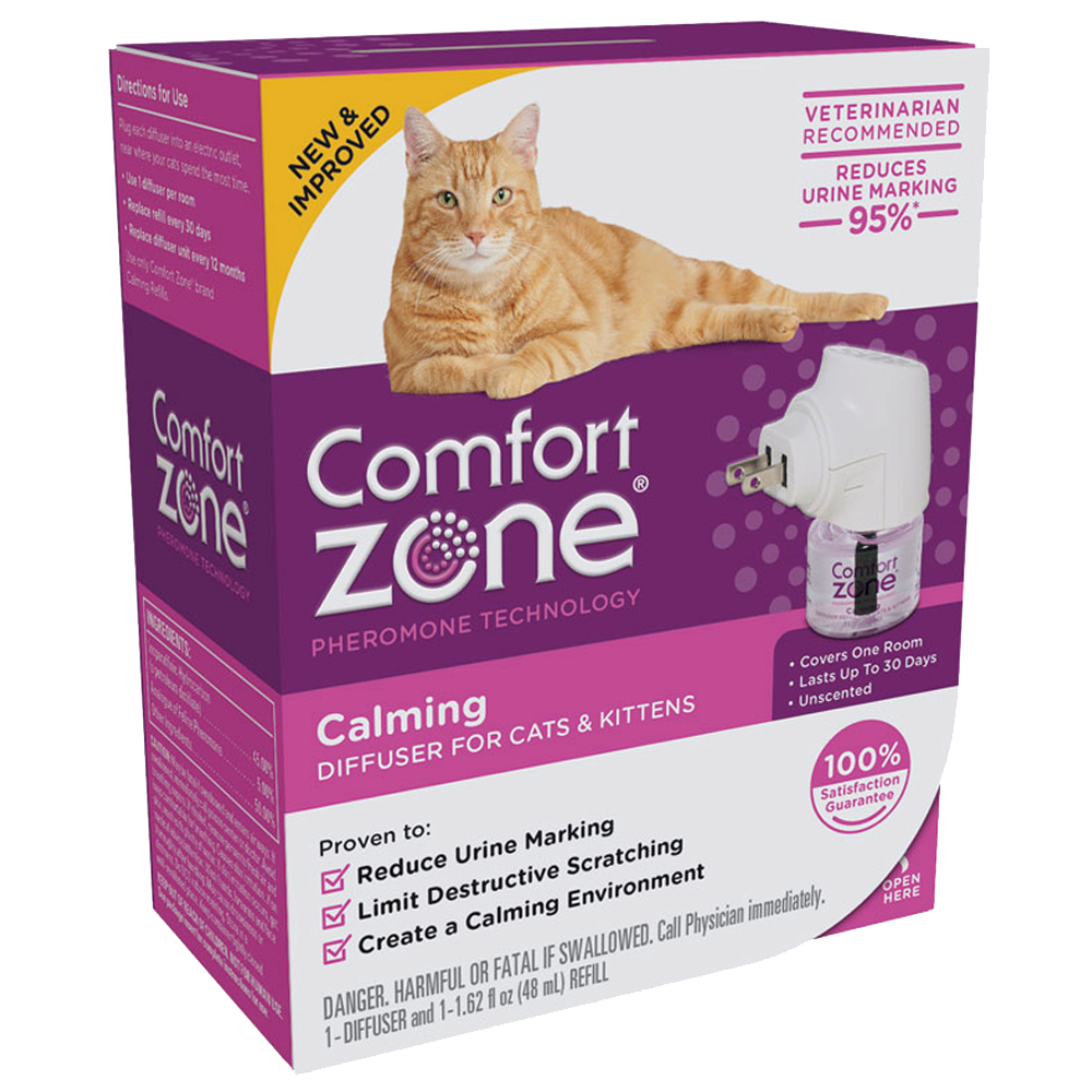 The #1 Brand in Cat and Dog Behavior Management | Comfort Zone