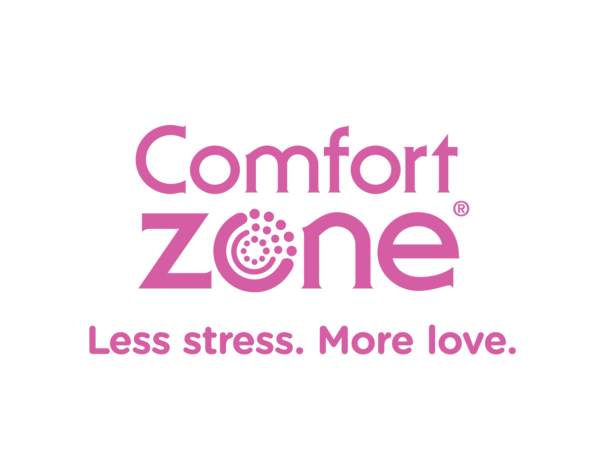 Comfort Zone Single Color Logo Pink PNG file