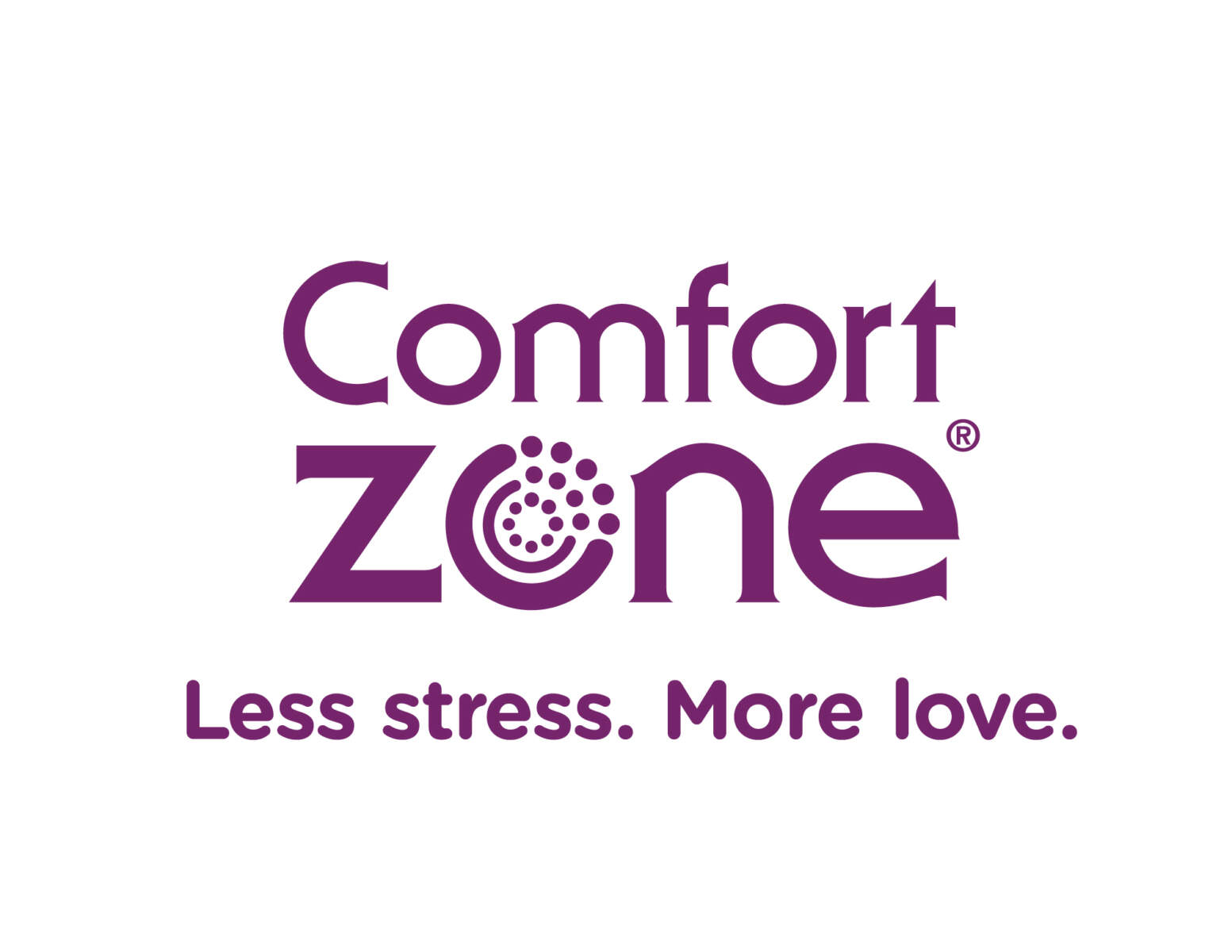 Comfort Zone Single Color Logo Purple PNG file